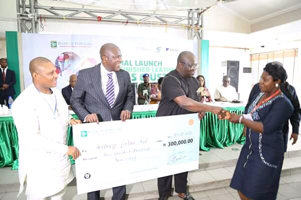 Formal launch of the 500Million fund for Abia Finished Leather Cluster by BOI; Another Ikpeazu's economic achievements.