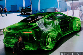 Nvidia drives a car in real life through virtual reality