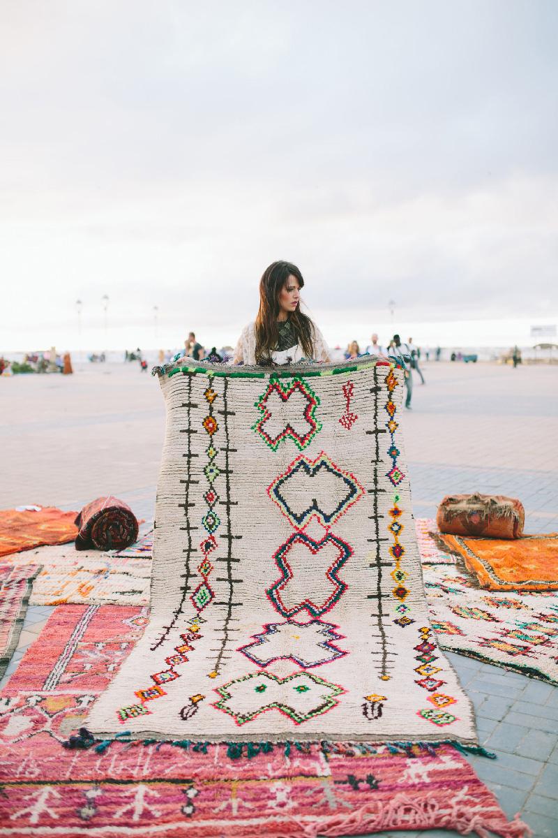 Tendenze arredo i tappeti berberi semikah textiles