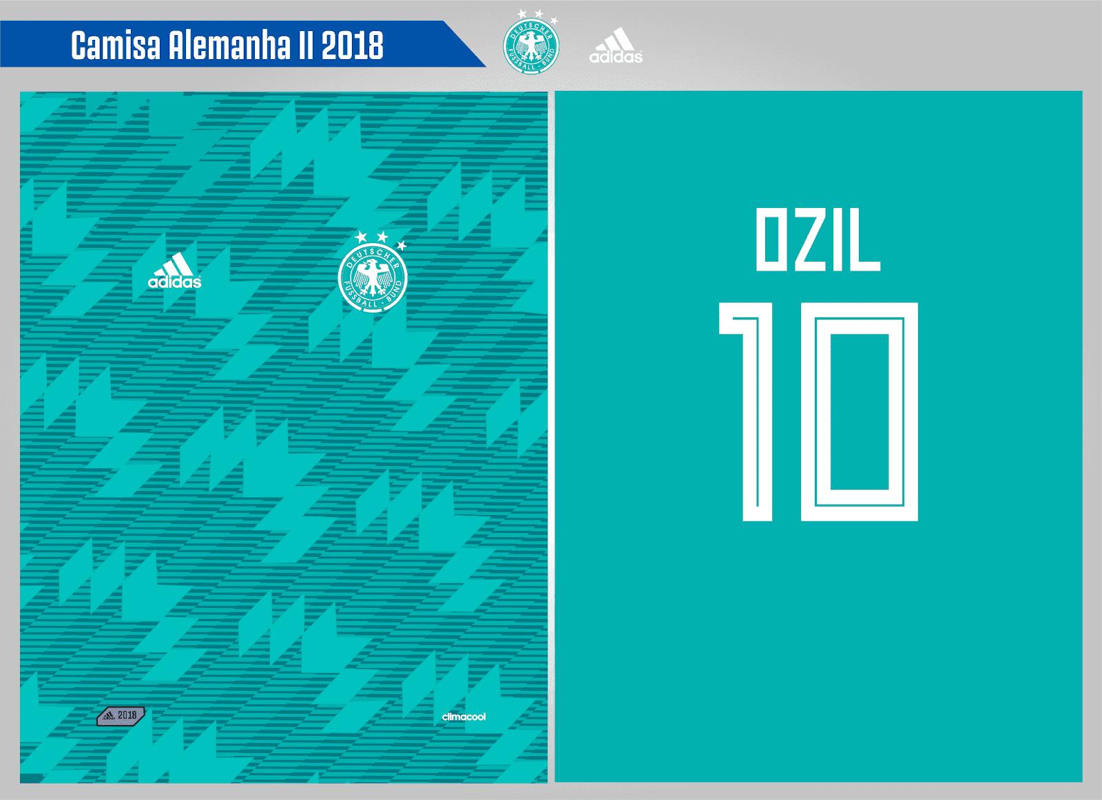 Camisa Alemanha II 2018 0f41395c79d95