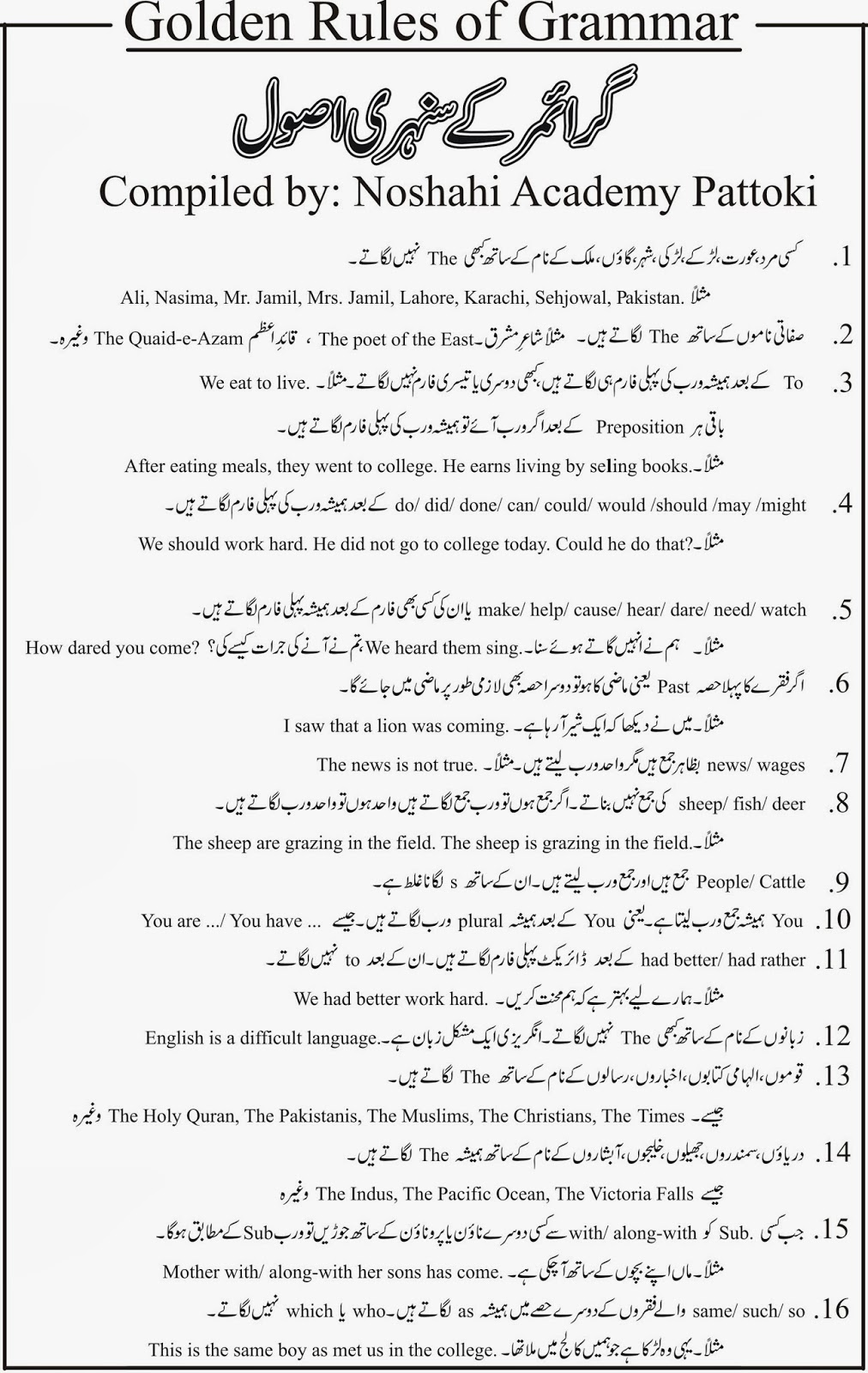 Urdu Essay Books Pdf
