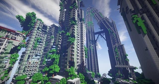 Ciudad de Minecraft Pocket Edition