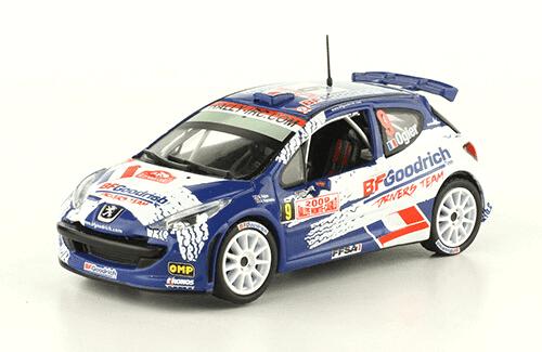 collezione rally monte carlo Peugeot 207 S2000 2009 Sébastien Ogier - Julien Ingrassia