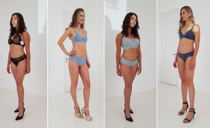 Wäsche und Models auf dem PR Event von Bodywear Consulting