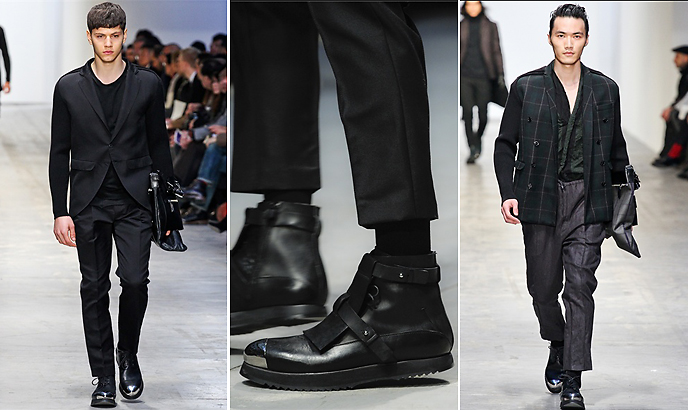 MFW Trends Men in Black. Dolce u0026 Gabbana - Costume National ...  sc 1 st  simply frabulous & simply frabulous: MFW Trends: Men in Black