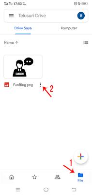 Mengaktifkan Fitur File Sharing Google Drive