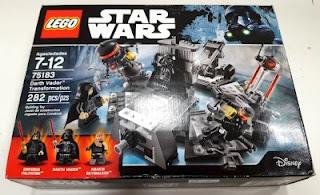 lego star wars 75183 darth vader transformation box front
