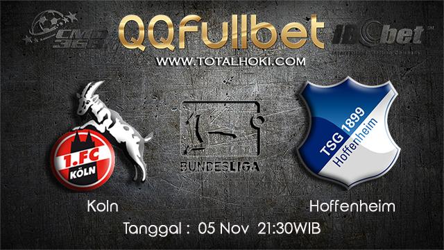 PREDIKSIBOLA - PREDIKSI TARUHAN BOLA KOLN VS HOFFENHEIM 05 NOVEMBER 2017 (BUNDESLIGA)