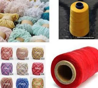 produsen benang tekstil di Sragen, Semarang, Pekalongan Jateng