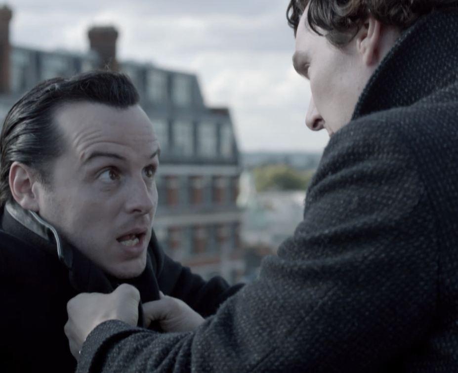 Sherlocked Jim Is Not Moriarty