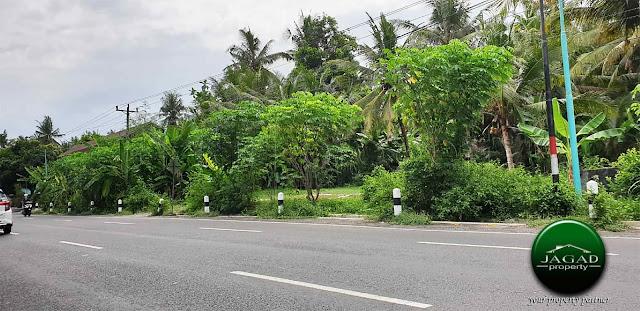 Tanah tepi jalan Srandakan dekat RS UII