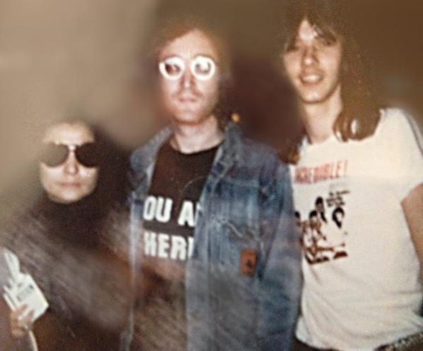 Yoko Ono, John Lennon, Dave-Morrell 9-72 You Are Here shirt.  PYGear.com