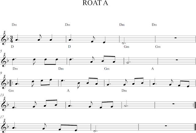 Roat A. Partituras para flauta dulce