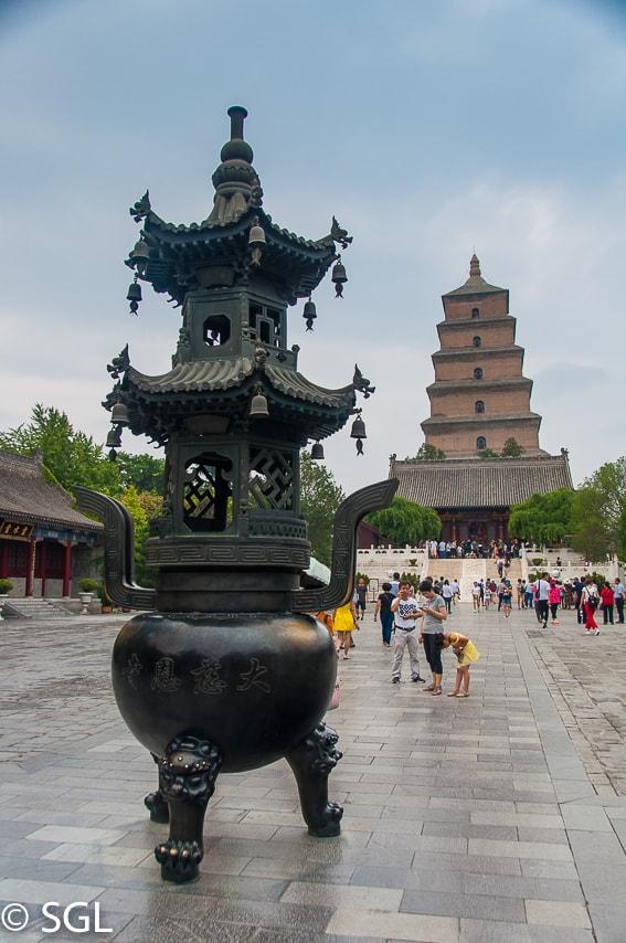 Pagoda de la oca salvaje. La ultima ciudad de la ruta de la seda