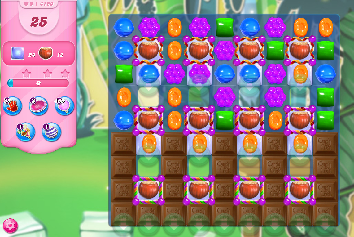 Candy Crush Saga level 4120