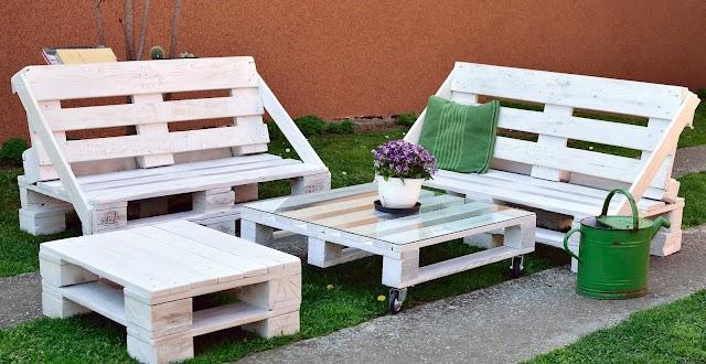 Guía en PDF para hacer muebles de madera con paletas
