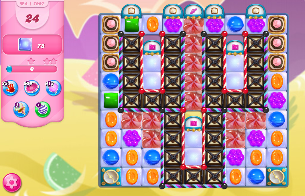 Candy Crush Saga level 7997