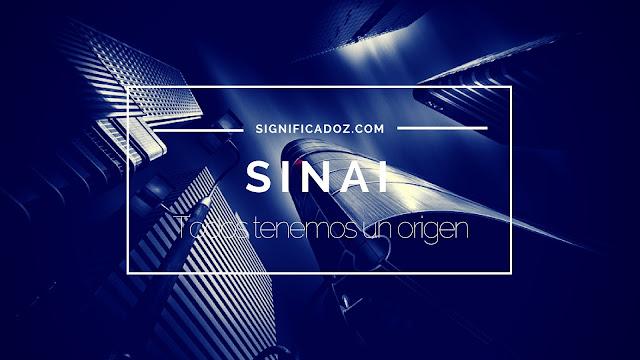 Significado y Origen del Nombre Sinai ¿Que Significa?