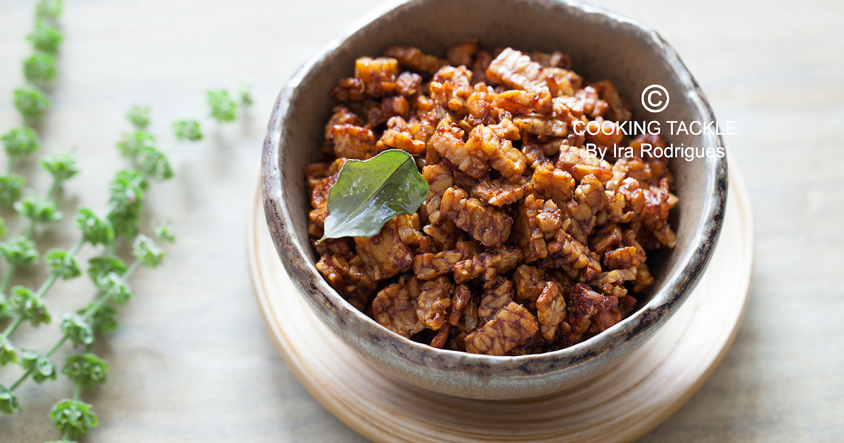 Spicy Tempe And Peanuts Kering Tempe