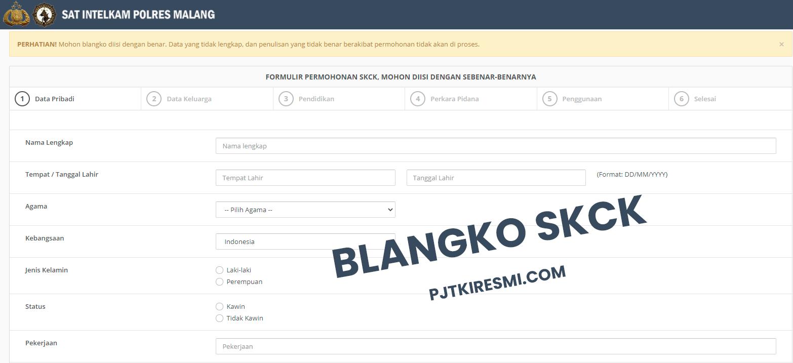 Cara Membuat SKCK Online Malang Surabaya Semarang Jakarta Bandung