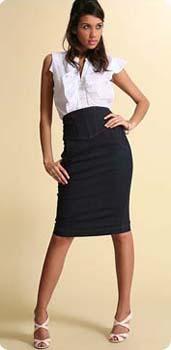 6dad629ebd1d58 mode, fashion et tendance: La jupe crayon