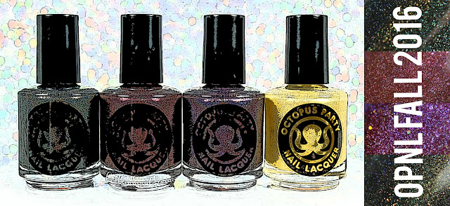 Octopus Party Nail Lacquer Fall 2016 | Part One