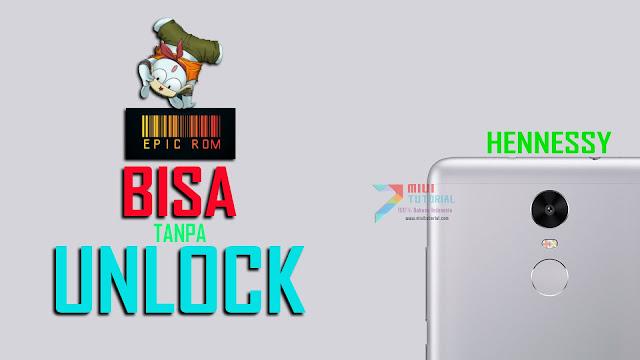 Rekomendasi Custom ROM EPIC untuk Xiaomi Redmi Note 3 Mediatek Hennessy: Bisa Install Tanpa Harus Unlock Bootloader