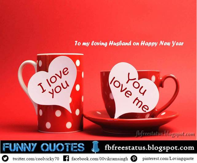 New Year Messages For Husband, New Year Wishes For Husband