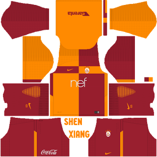 galatasaray DLS18 kits Forma Url dream league