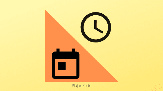 Banner cara memisahkan datetime yang diambil dari database dengan php