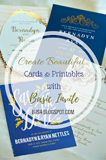 Create Beautiful Cards and Printables with Basic Invite