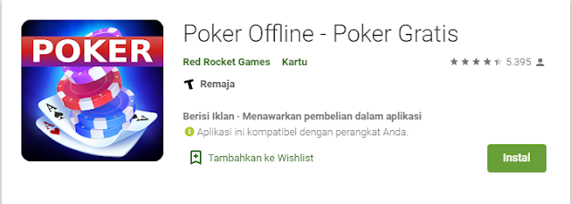 Game poker offline android gratis