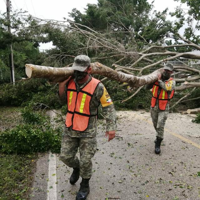 Ejército Mexicano aplica ininterrumpidamente el Plan DN-III-E en Yucatán