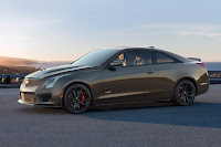 Cadillac ATS-V Coupe Pedestal Edition (2019) Front Side