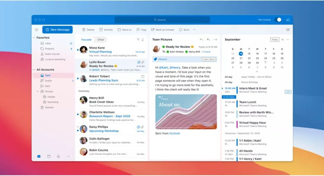 Desain Outlook untuk Mac Diluncurkan pada Bulan Oktober
