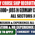Germany Cruise Ship Recruitment 2017 – Apply Now
