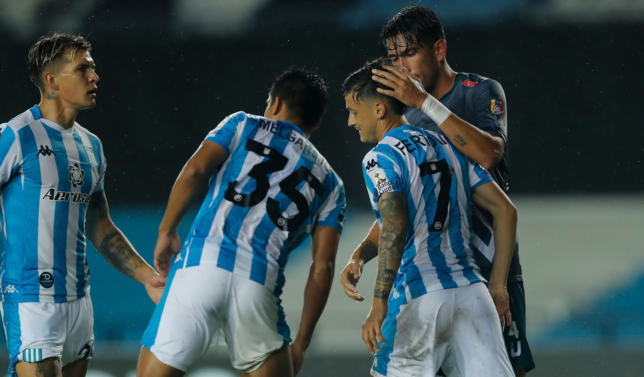 Racing Estudiantes Merida Libertadores