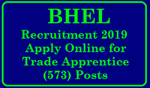 BHEL Bhopal Recruitment 2019 – Apply Online