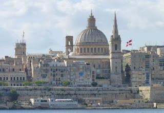 La Valletta desde Sliema.