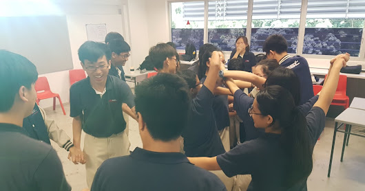 Class Bonding in Action on 19th Jan (Friday)
