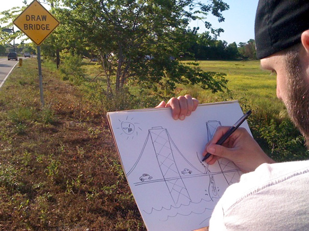 50 Hilarious Photos Of People Who Took Instructions Too Literally - Draw Bridge