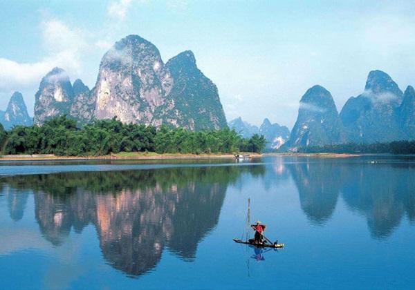 แม่น้ำหลีเจียง (Li River: Li Jiang: 漓江)