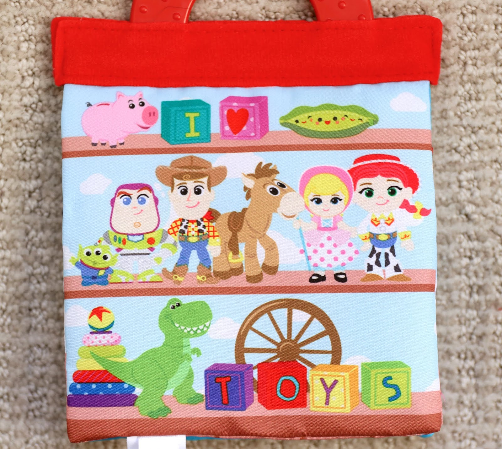 toy story disney baby soft book