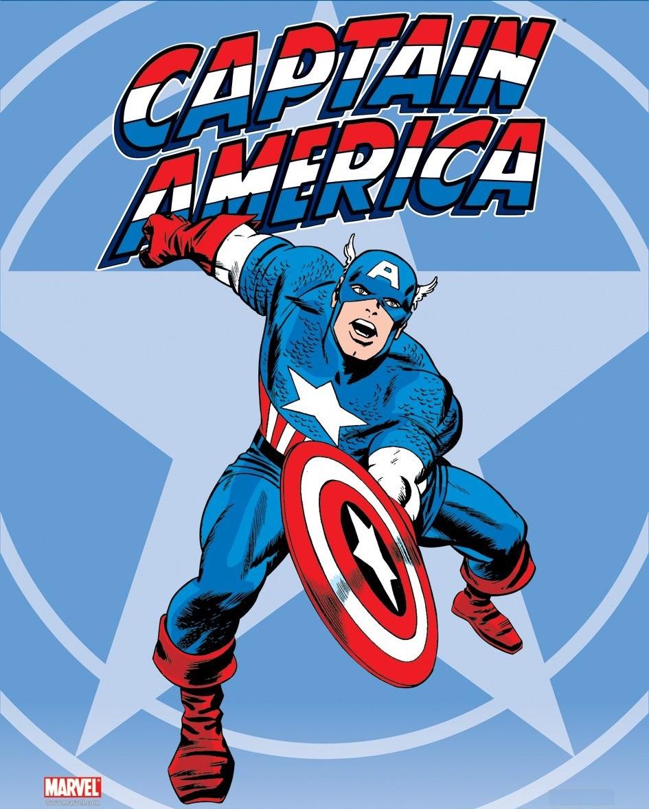 Desenho Do Escudo Do Capitão América