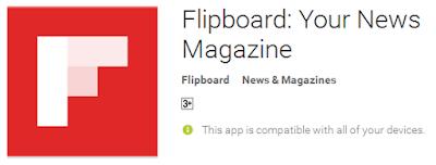 Flipboard : Aplikasi untuk baca berita
