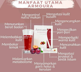 Manfaat Mengkonsumsi Armoura Beauty Slim Drink
