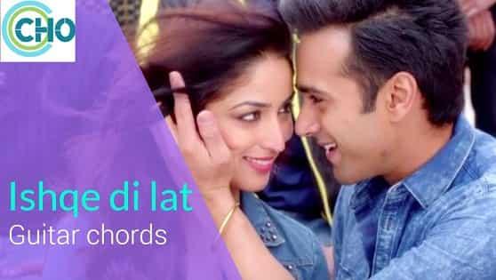 ISHQE DI LAT Guitar chords with lyrics Accurate | Ankit Tiwari | Junooniyat
