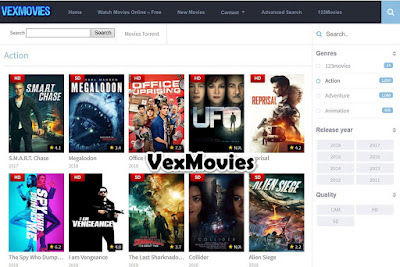 VexMovies - Free Movie Streaming Sites No Sign Up