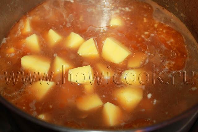 рецепт венгерского супа-гуляша с пошаговыми фото