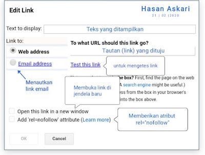 Hasan Askari: Tutorial Blogger Lengkap Menggunakan HP - #5 Mengenal fitur pada menu Postingan gambar 7